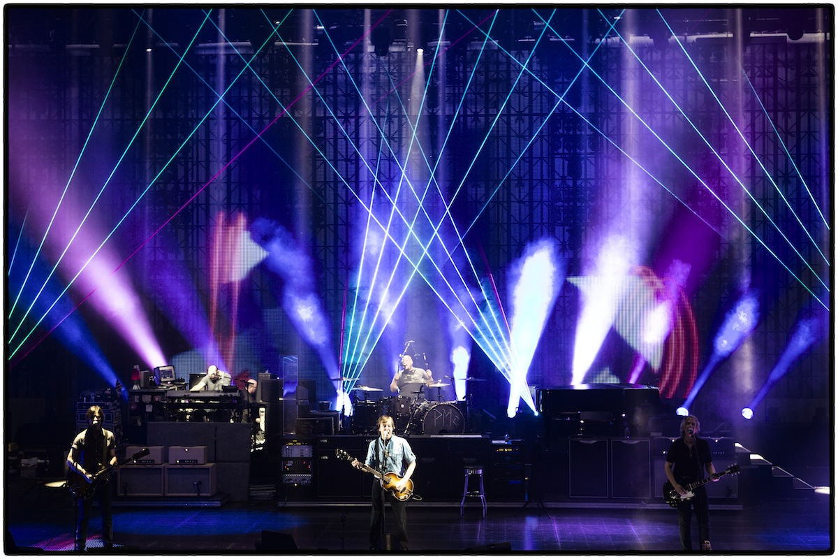 Paul McCartney Out there tour rehearsal 2013